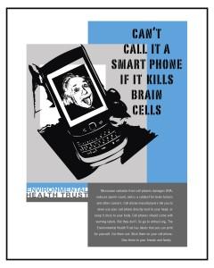 Einstein Cell Phone Safety Poster