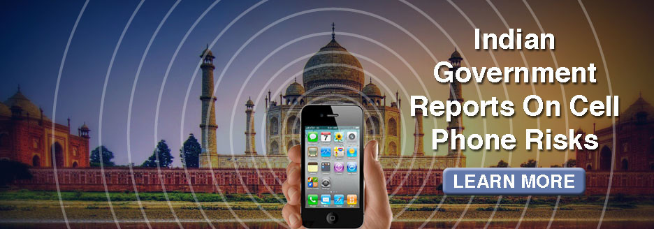 Indian Government reports on cell phone risks