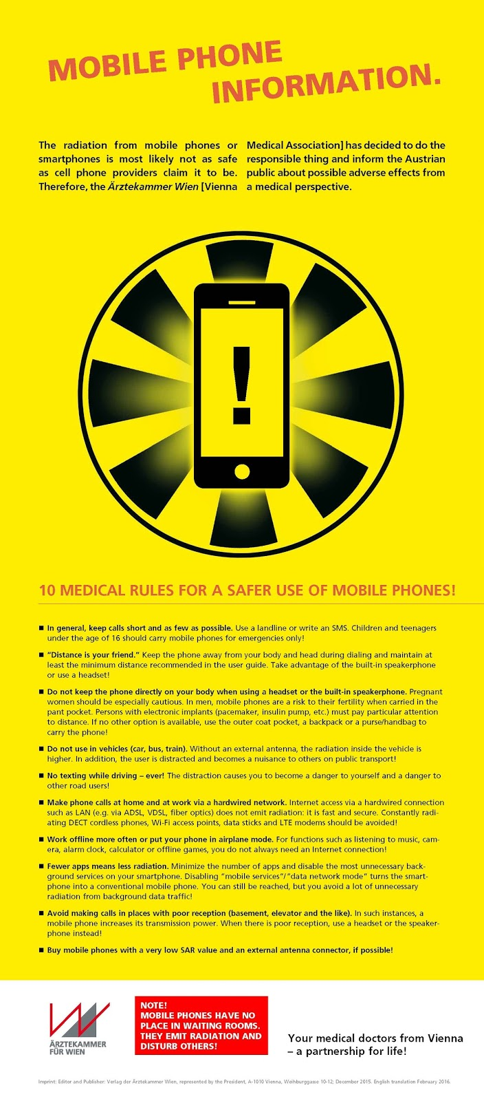 cell phone guidelines
