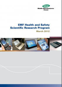 EMF Health and Safety Scientific Research Program Brochure