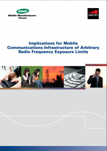 Implications for Mobile Communications Infrastructure of Arbitrary RF Exposure Limits Brochure
