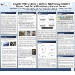 EVALUTATION OF THE GENOTOXICITY OF CELLL PHONE RADIOFREQUENCY RADIATION IN MALE AND FEMALE RATS AND MICE FOLLOWING SUBCHRONIC EXPOSURE