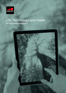 LTE- Technology and Health Brochure