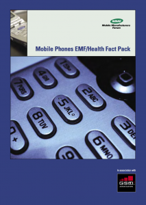 Mobile Phones EMF- Health Fact Pack Brochure