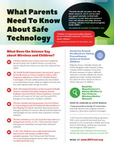 Parents Safe Tech Flyer