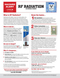 Cell Tower Radiation Awareness Program