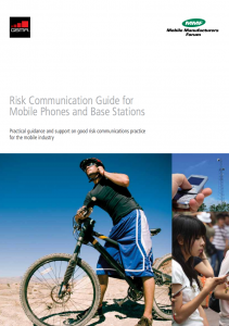 Risk Communication Guide for Mobile Phones and Base Stations Manual