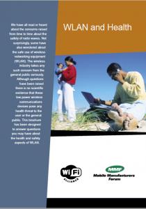 WLAN and HEALTH Brochure