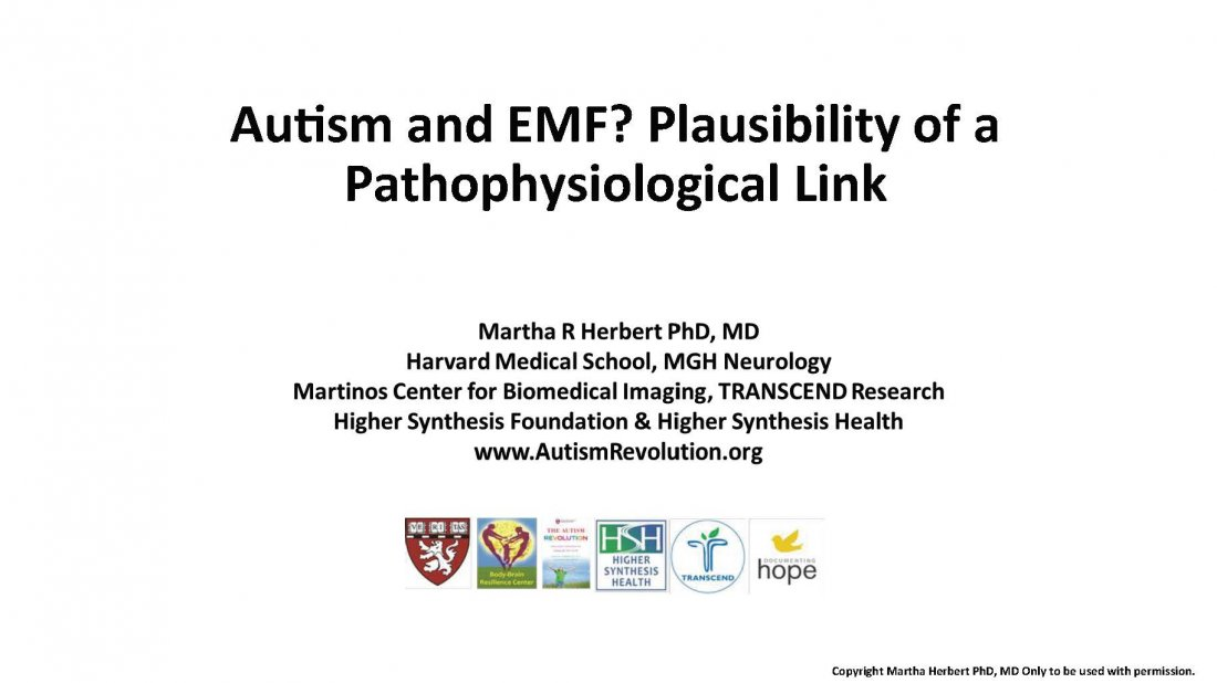 Environmental Health Trust Autism, ADHD, and Wireless