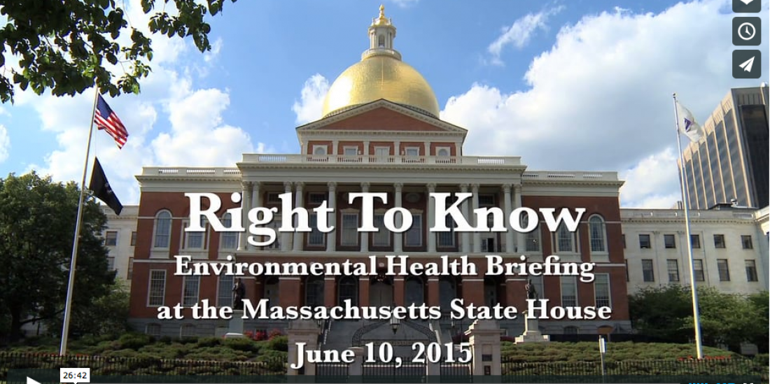Right To Know - An Environmental Health Briefing