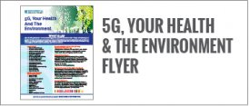 5G, Your Health & the Environment Flyer