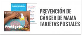 Breast Cancer Prevention Postcards Spanish 1
