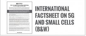 International Fact sheet on 5G and Small Cells (B&W)