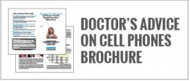 Doctors Advice on Cell Phones Brochure