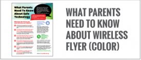 What Parents Need to Know About Safe Technology Flyer (Color)