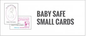 Baby Safe Small Cards