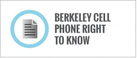 Berkeley Cell Phone Right to Know Ordinance