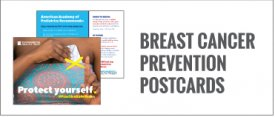 Breast Cancer Prevention Postcards