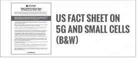 US Factsheet on 5G and Small Cells (B&W)