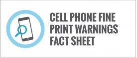 Fine Print Warnings Fact Sheet