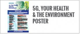 5G, Your Health & The Environment Poster