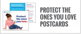 Protect the Ones You Love Postcards