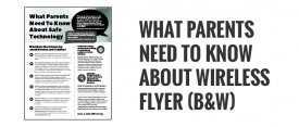 What Parents Need to Know About Safe Technology Flyer (B&W)
