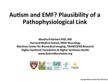 2016 Dr. Martha Herbert: Autism and EMF? Plausibility of a Pathophysiological Link