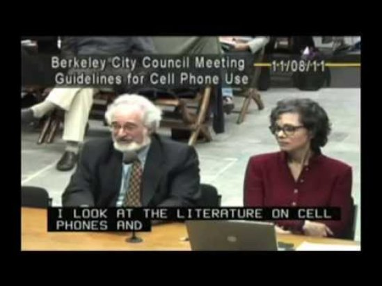 Berkeley City Council Meeting on Cell Phone Radiation