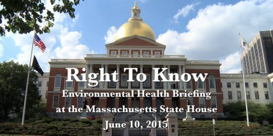Massachusetts State House Briefing on Wireless and Health Risks, June 2015